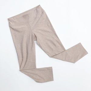 Outdoor Voices Pants - Outdoor Voices Warmup 7/8 Leggings Desert Taupe